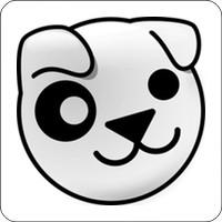 Notebook-Sticker - Puppy