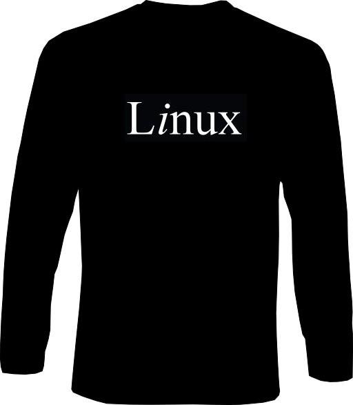 Langarm-Shirt - Linux