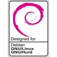 Notebook-Sticker - Debian GNU/Hurd