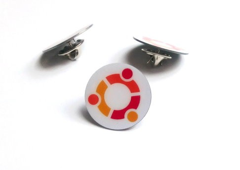 Ansteckpin - ubuntu