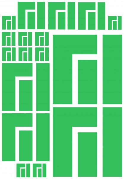 Maxi-Sticker - Manjaro A4