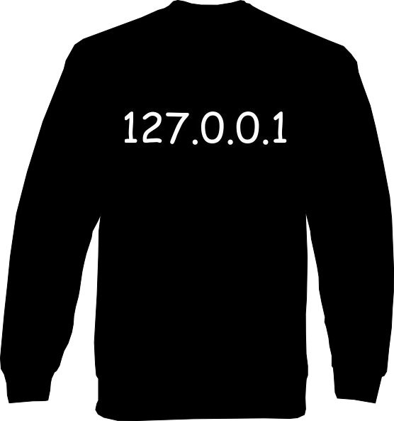 Sweat-Shirt - Localhost