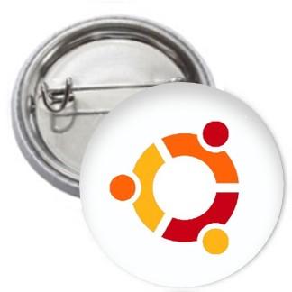 Ansteckbutton - ubuntu