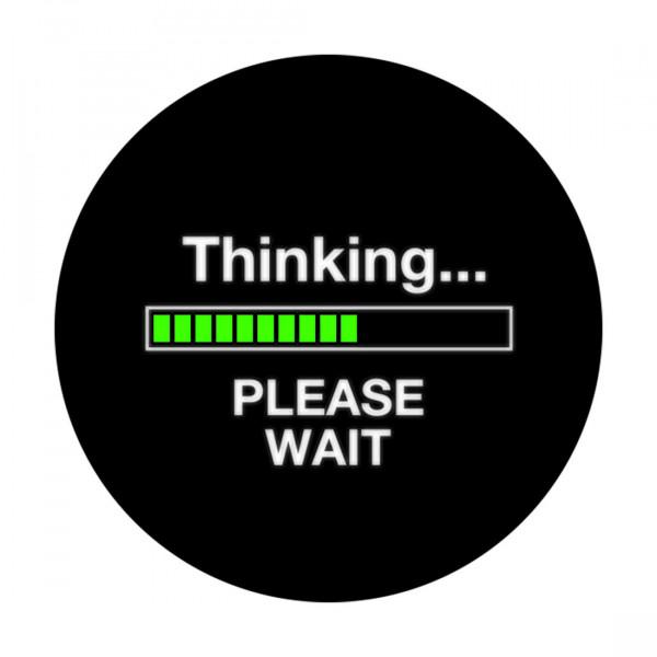 Notebook-Sticker - Thinking