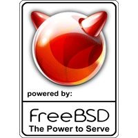 Notebook-Sticker - FreeBSD New Logo