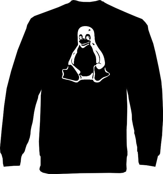 Sweat-Shirt - Tux Pinguin