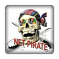 PC-Sticker - Net Pirate Nr.1