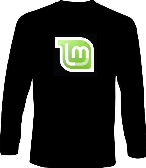 Langarm-Shirt - Linux Mint