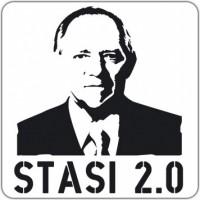 Notebook-Sticker - Stasi 2.0
