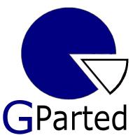 GParted 1.2.0-1 - USB-Stick