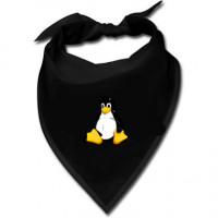 Halstuch - Linux Pinguin