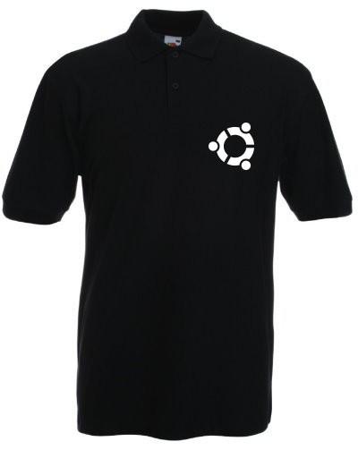 Polo-Shirt - ubuntu Logo