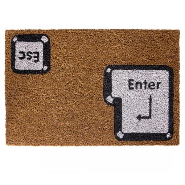 Fußmatte Enter/Esc