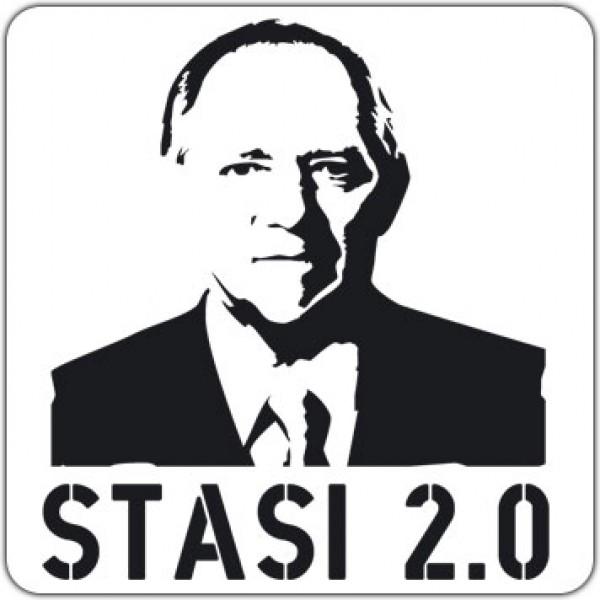 Maxi-Sticker - Stasi 2.0