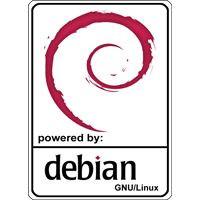 Notebook-Sticker - Debian