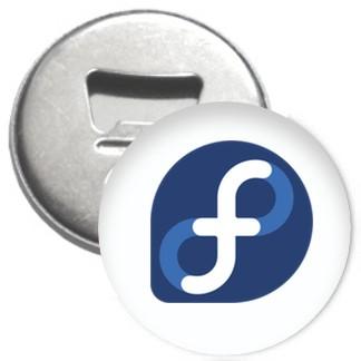 Flaschenöffner + Magnet - Fedora