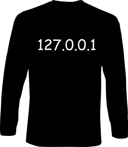 Langarm-Shirt - Localhost