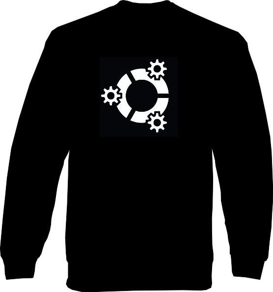 Sweat-Shirt - kubuntu Logo