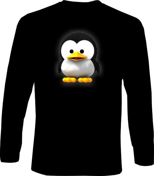 Langarm-Shirt - Baby Tux