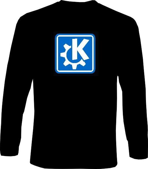 Langarm-Shirt - KDE