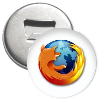 Flaschenöffner + Magnet - Firefox