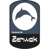 Notebook-Sticker - Zenwalk