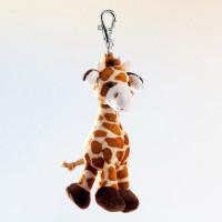 Schlüsselanhänger - Plüsch-Giraffe