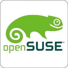 Tasten-Sticker - openSUSE