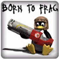 PC-Sticker - Born to Frag