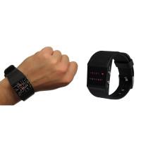 Binäre Armbanduhr