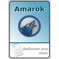 Notebook-Sticker - Amarok