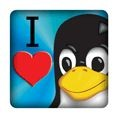 PC-Sticker - I love Linux