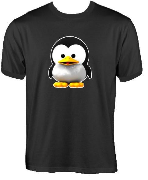 T-Shirt - Baby Tux