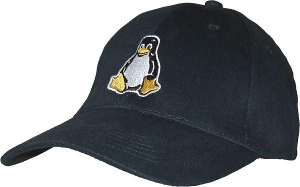 Baseballcap Tux - navy-blau