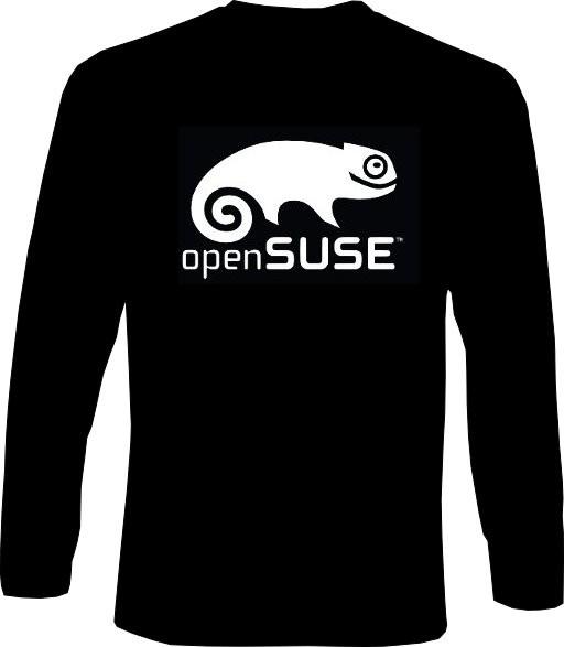 Langarm-Shirt - openSUSE