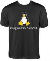 T-Shirt - Tux - root@job